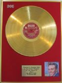 BILLY FURY  -  24 Carat Gold Disc LP - BILLY